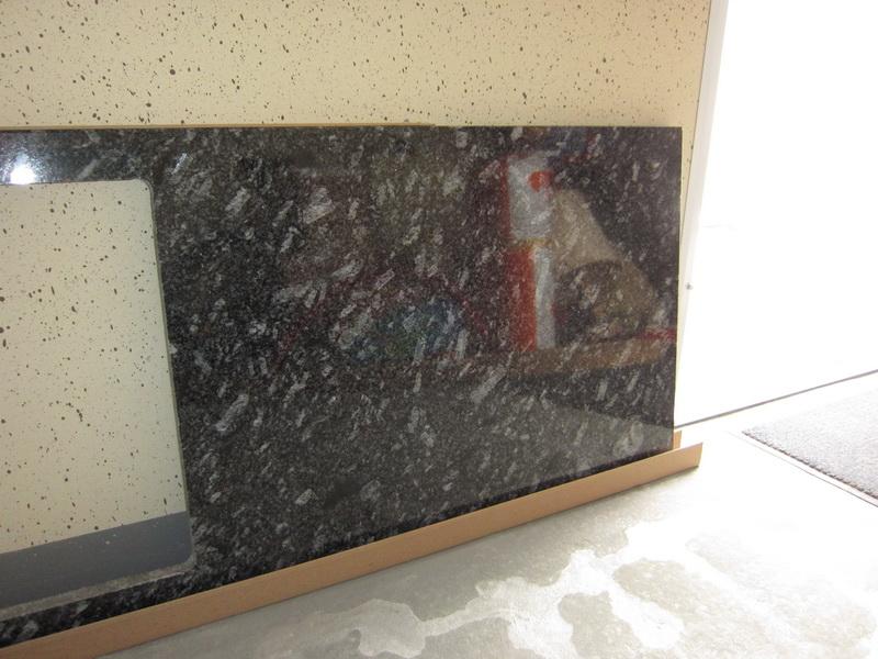 arbeitsplatte aus granit azul noce granitarbeitsplatte naturstein ebay. Black Bedroom Furniture Sets. Home Design Ideas
